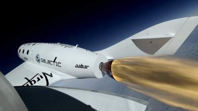 La SpaceShipTwo, la primera para los viajes turísticos por el espacio.