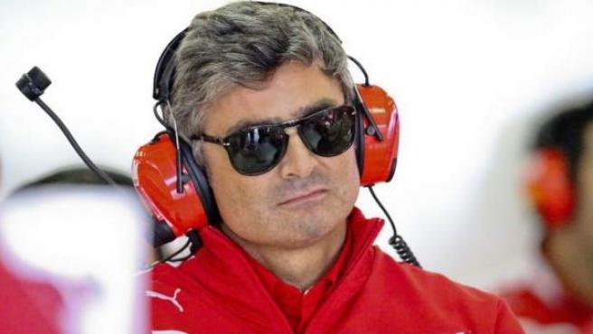 Marco Mattiacci, director del equipo Ferrari.
