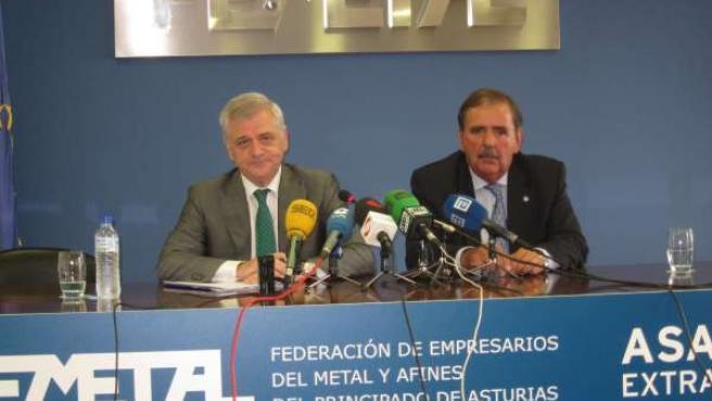 Guillermo Ulacia y César Figaredo