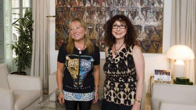 Puchalt y Carol Wahler en el MuVIM