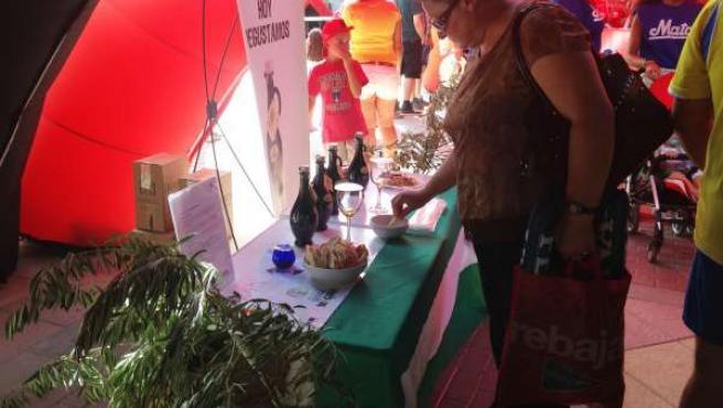 Promoción de aceite de oliva con DO Sierra Mágina