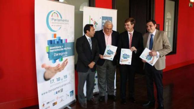 El primer Parlamento Iberoamericano de la Juventud se celebra en Zaragoza
