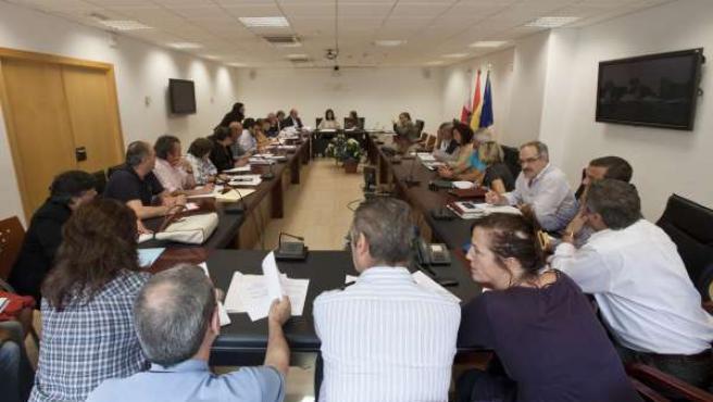 Imagen de archivo de la Mesa General de Negociación del Gobierno de Cantabria