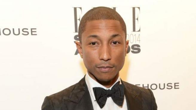 El cantante, compositor y productor Pharrel Williams, en unos premios de Elle.