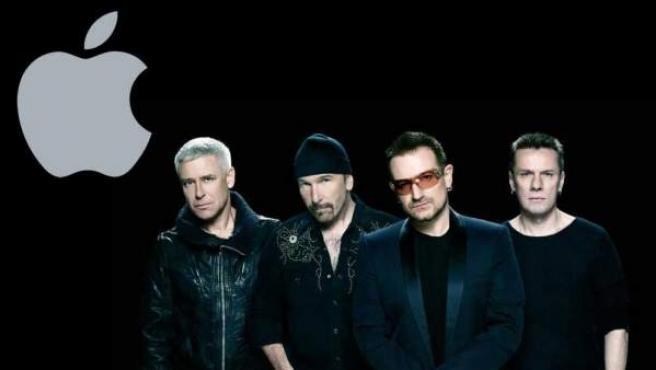 La banda irlandesa U2 regala su nuevo disco, 'Songs of innocence' en colaboración Apple.