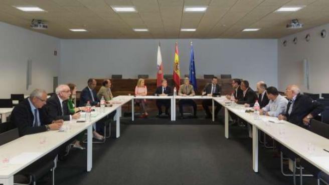 Reunión del Gobierno con el sector comercial de la región
