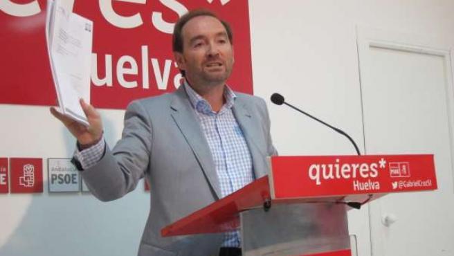 José Fernández, secretario de Organización del PSOE local de Huelva.