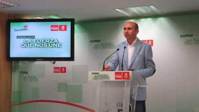 Secretario de Política Institucional del PSOE-A, Francisco Conejo