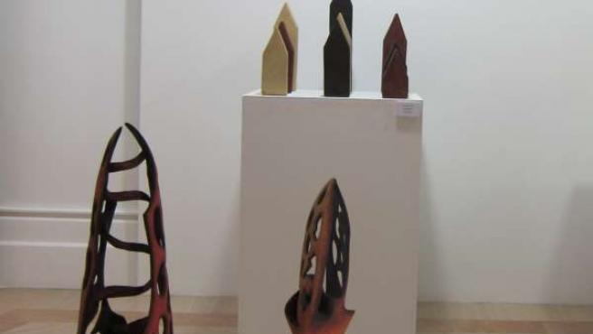 La exposición en homenaje a Aracadi Blasco
