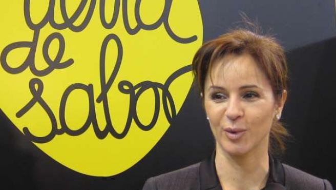 Silvia Clemente Y El Logo Tierra De Sabor
