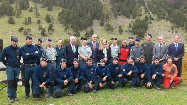 Alcalde ha subrayado la labor de la Guardia Civil en este acto