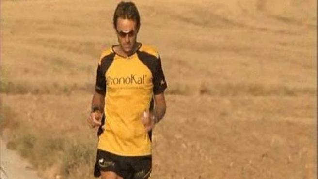 Ricardo Abad, corredor de maratones.