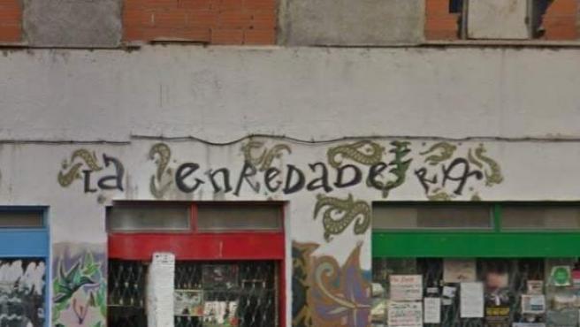 Fachada de 'La Enredadera' en Tetuán