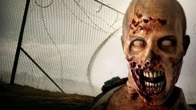Imagen de la nueva atracción 'The Walking Dead Experience' en Madrid.