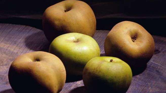 Manzanas reinetas del Bierzo