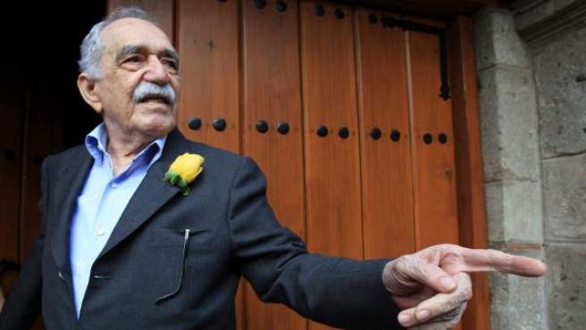 Fotografía del 6 de marzo de 2014 del escritor colombiano y premio Nobel de literatura Gabriel García Márquez.