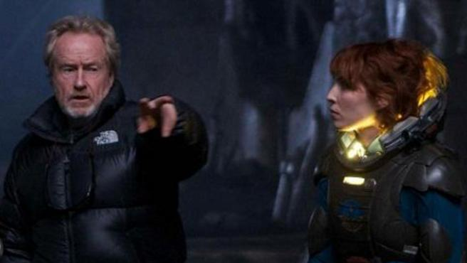 "Ridley Scott: ""No habrá 'aliens' en 'Prometheus 2"""