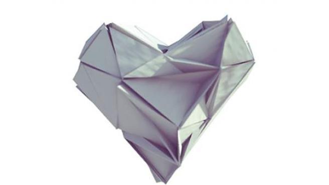 Corazón de papel.