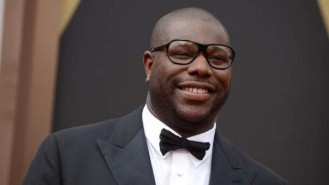 El director Steve McQueen, en la ceremonia de los Oscar 2014.