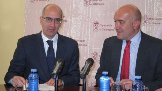 Los presidentes de las diputaciones de Salamanca y Valladolid