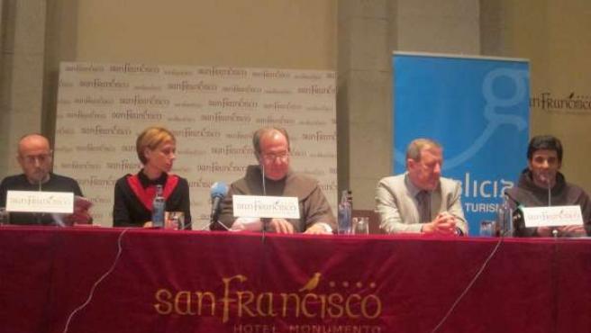 Presentación cómic de San Francisco de Asís