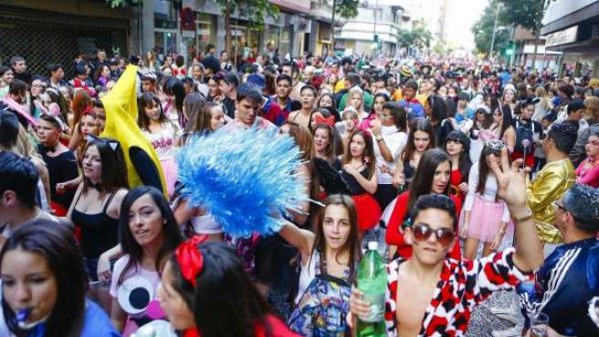 Gran Cabalgata del Carnaval de Las Palmas de Gran Canaria 2014