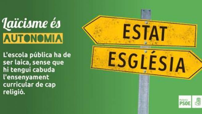 Campaña de los Socialistas de Mallorca