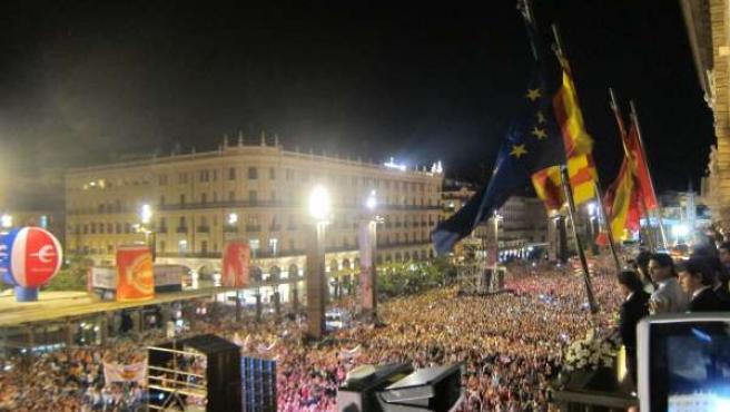 Pregón de las fiestas del pilar 2013.