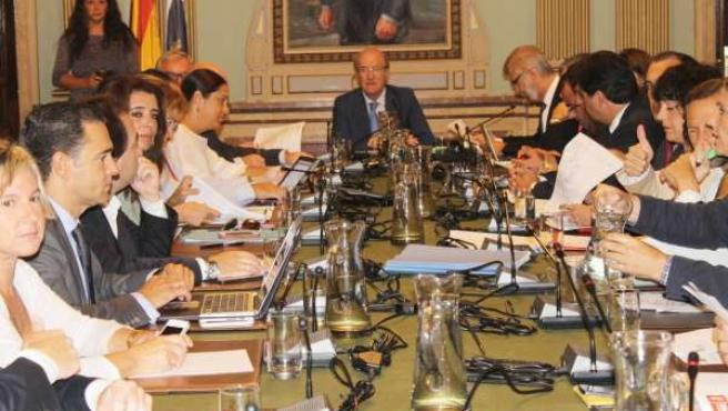 Pleno de septiembre del Ayuntamiento de Huelva.
