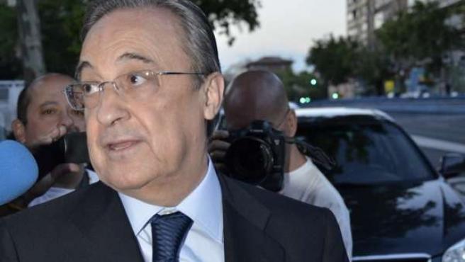 Florentino Pérez visita presidente honor Real Madrid, Alfredo Di Stéfano