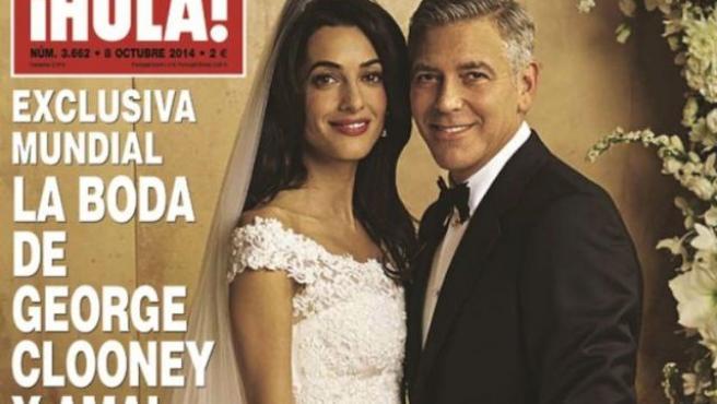 Y George Clooney se casó