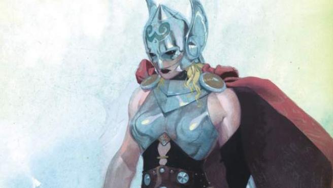 Marvel transforma al personaje de Thor y lo convierte en mujer.