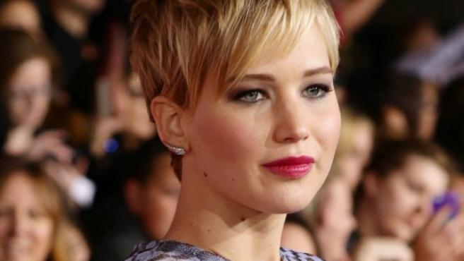 La actriz ganadora de un Oscar Jennifer Lawrence.