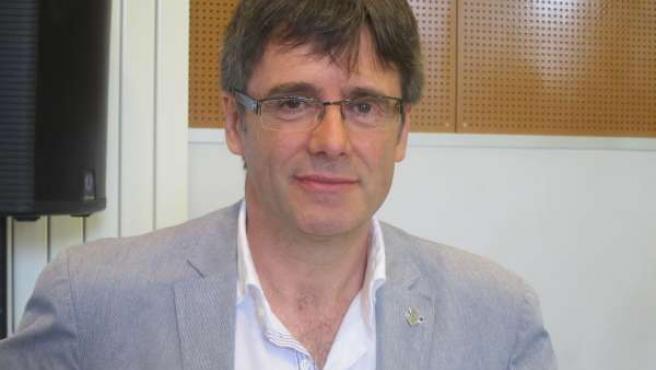 Carles Puigdemont (CiU), alcalde de Girona