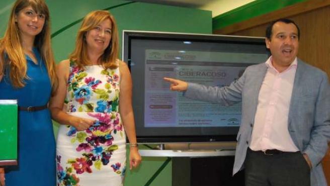 Ciberacoso, Susana Radío, José Luis Ruiz Espejo, Martín Palop