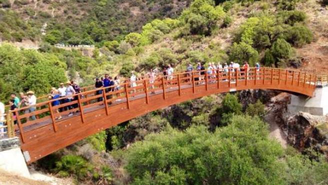 Puente, paraje Las Angosturas, Benahavís, Guadalmina