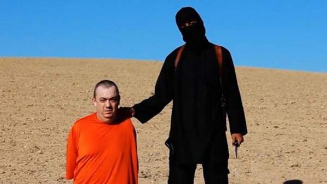 El cooperante británico Alan Henning, decapitado por el Estado Islámico tras nueve meses de secuestro en Siria.