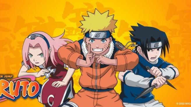 Protagonistas de 'Naruto', popular maga juvenil.