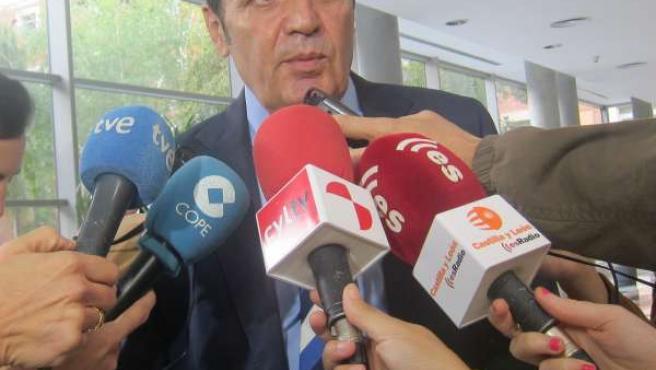 Antonio María Sáez Aguado, consejero de Sanidad en CyL.