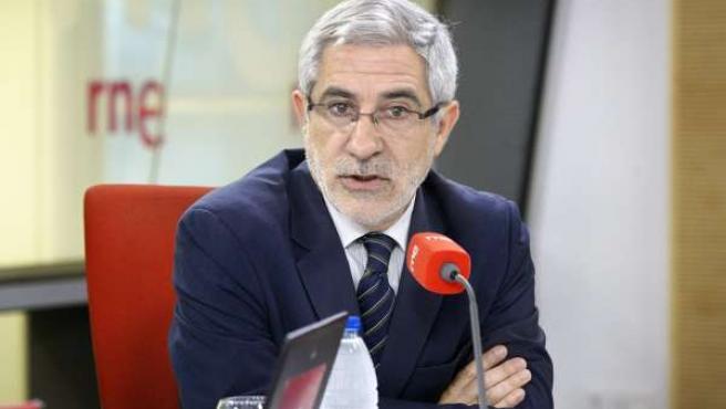 El diputado de IU Gaspar Llamazares