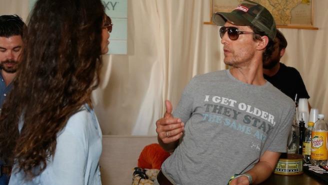Foto del día: Matthew McConaughey se viste de 'Movida del 76'