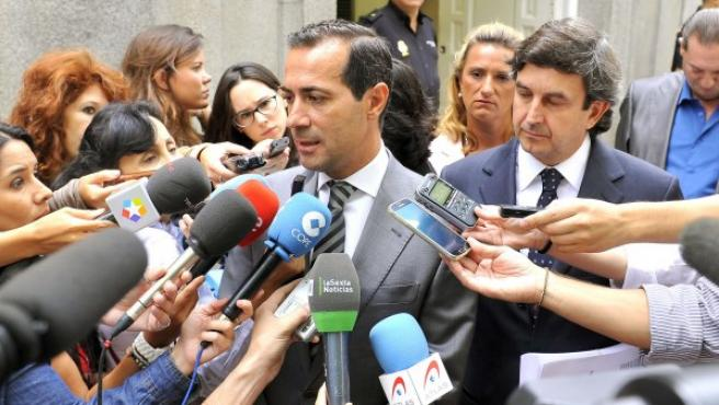 El portavoz del Gobierno de la Comunidad de Madrid, Salvador Victoria.