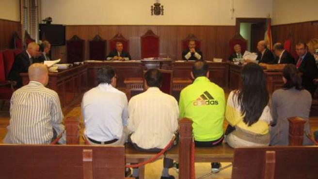 Juicio con el Guardia Civil acusado de tráfico de cocaína