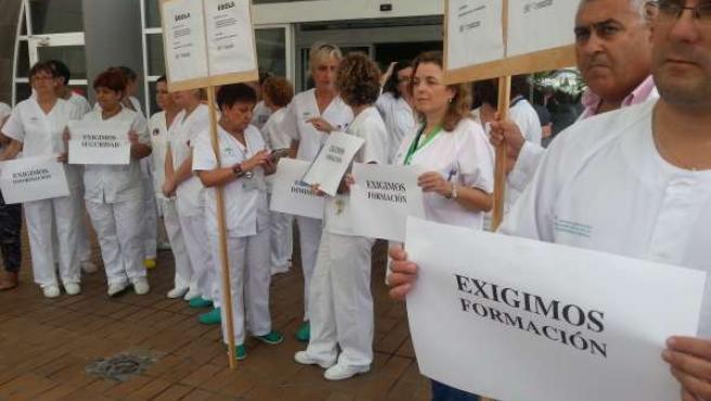 """Sanitarios andaluces aserguran que """"no están preparados"""" para atender ébola"""
