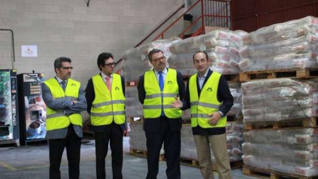 Gutiérrez Limones visitando la empresa Refractarios Alfran en su 100 aniversario