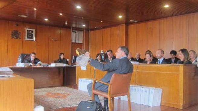 Declaración de un perito en el juicio por el incendio de Tetuán