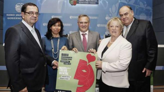Rueda de prensa de Fedeafes, la federación de Euskadi