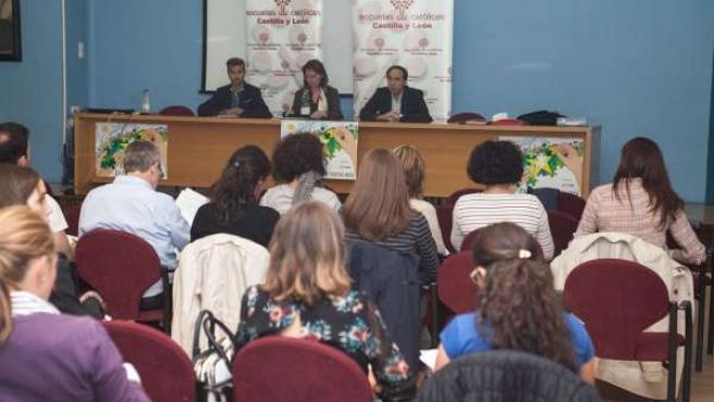 Participantes en la jornada de orientación educativa.