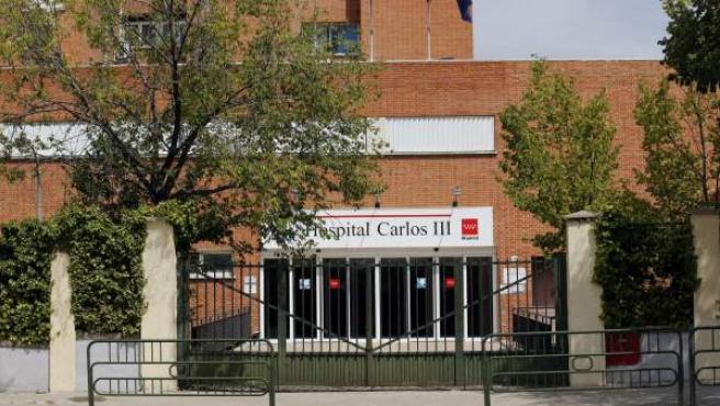 Fachada del Hospital Carlos III de Madrid.