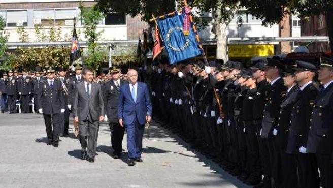 Actos del Día de la Policía, celebrado este 1 de octubre en Madrid.
